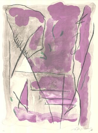Lithographie Ràfols Casamada - Parc-6