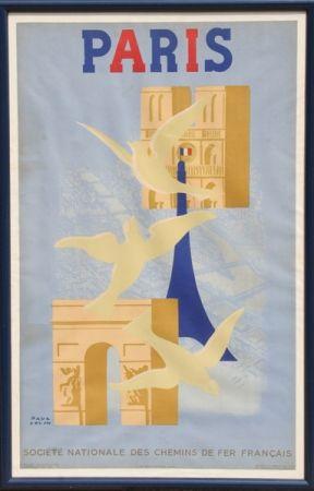 Lithographie Colin - Paris