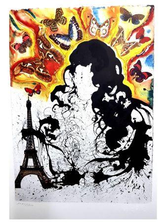 Lithographie Dali - Paris