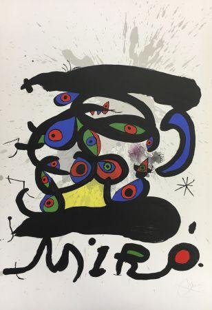 Lithographie Miró - Paris 1971