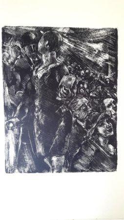 Lithographie Moreau - Paris Au Cinéma
