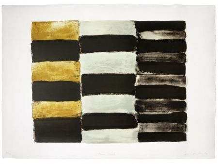 Lithographie Scully - Paris black