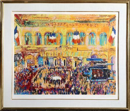 Sérigraphie Neiman - Paris Bourse