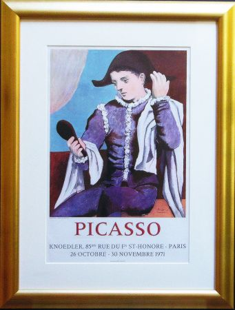 Lithographie Picasso - Paris, Galerie Knoedler Signed