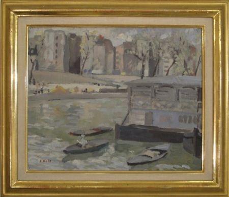 Aucune Technique Holy - Paris, Kanal mit Bateaux-Lavoir