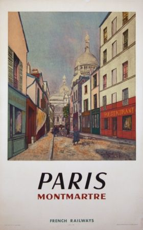 Offset Utrillo - Paris Montmartre