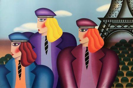 Lithographie Morris - PARIS RAGE