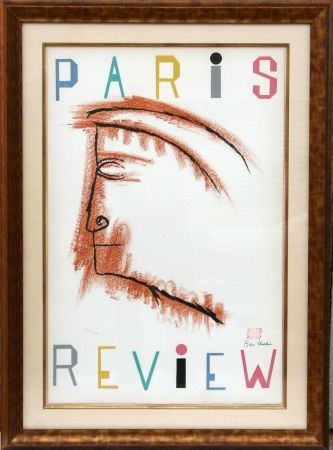 Lithographie Shahn - Paris Review