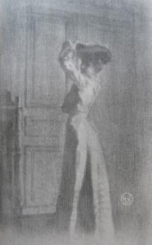 Lithographie Neumont - Parisienne