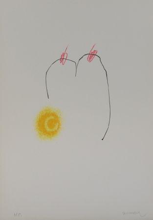 Lithographie Cormenzana - Pas de dansa 2