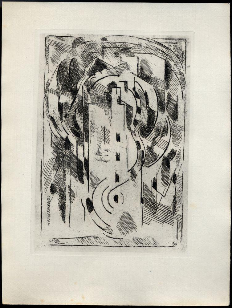 Livre Illustré Gleizes - PASCAL, Blaise: PENSÉES sur l'Homme et Dieu. Choix et classement de Geneviève Lewis. Gravures originales d'Albert Gleizes.
