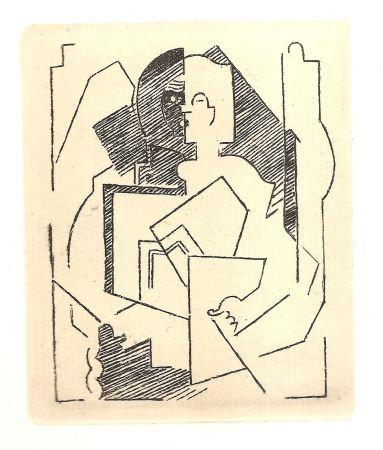 Gravure Gleizes - Pascal.  Pensées sur l'homme et Dieu (restrikes of 22 etchings)