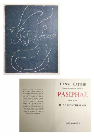 Livre Illustré Matisse - Pasiphae - Livret de présentation en reproduction