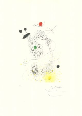 Aquatinte Miró - Passacaille