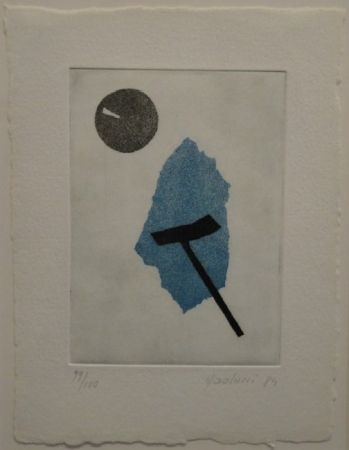 Aquatinte Paolucci - 'Passaggio', Werke aus den Jahren 1973 bis 1983