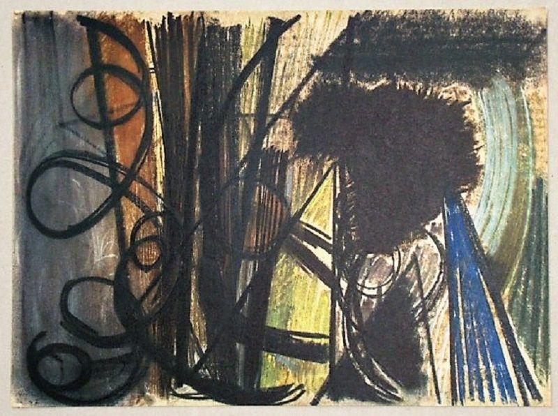 Offset Hartung - Pastel P. 1947-20