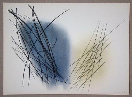 Offset Hartung - Pastel P. 1957-31