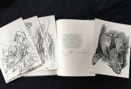 Livre Illustré Ernst - Paul Éluard : CHANSON COMPLÈTE. Lithographies de Max Ernst (1939)