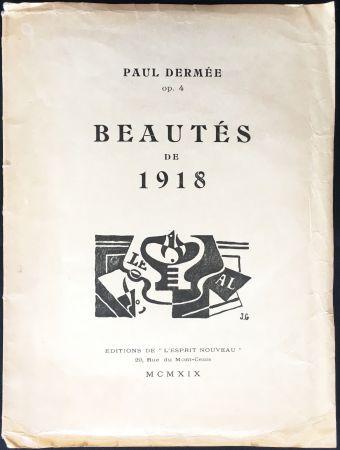 Livre Illustré Gris  - Paul Dermée : BEAUTÉS DE 1918. Illustrations de Juan Gris.