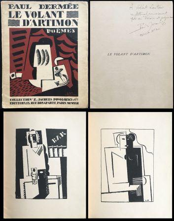 Livre Illustré Marcoussis - Paul Dermée : LE VOLANT D'ARTIMON. POÈMES. Exemplaire avec envoi