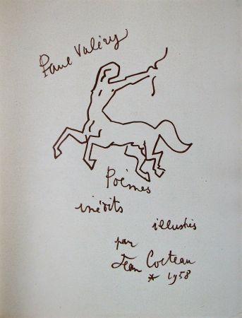 Lithographie Cocteau - Paul Valéry - Douze Poèmes