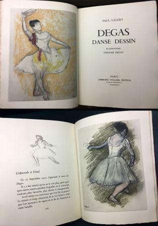 Livre Illustré Degas - Paul Valéry : DEGAS DANSE DESSIN (Vollard, Paris 1936).