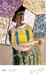 Lithographie Braque - PAULHAN (Jean). Braque le patron.