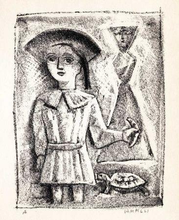 Livre Illustré Campigli - PAULHAN (Jean). L'Aveuglette.