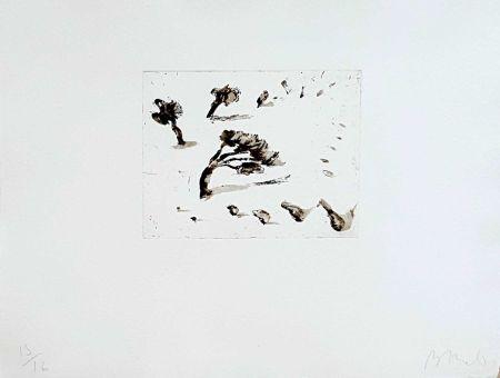 Gravure Barcelo - Paysage