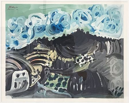 Aucune Technique Picasso (After) - Paysage dalmate