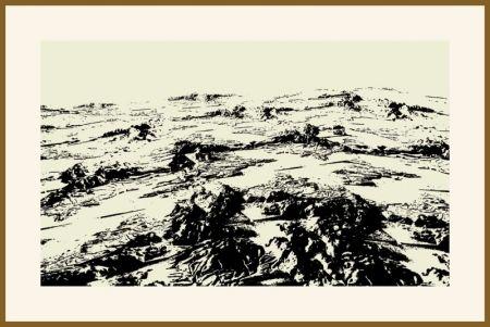 Sérigraphie Urto - Paysage fiction