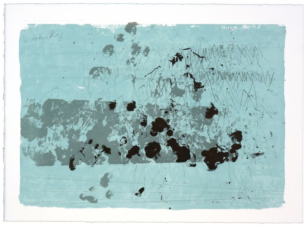 Lithographie Denning - Paysage III