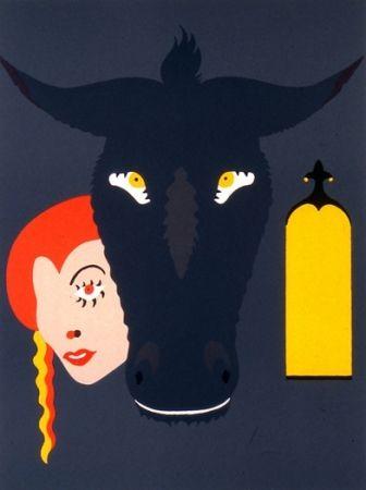 Lithographie Arroyo - Peau d'âne