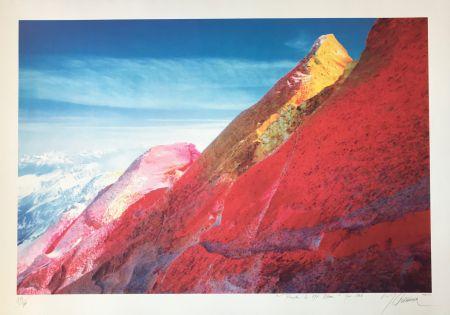 Sérigraphie Gueranger - Peindre le Mont-Blanc