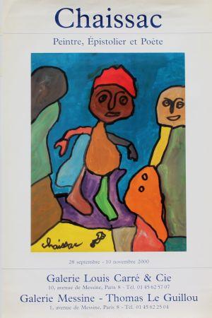 Offset Chaissac - Peintre Epistolier  Poète