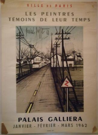 Affiche Buffet - Peintres témoins de leur temps - 1962