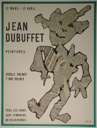 Lithographie Dubuffet - Peintures