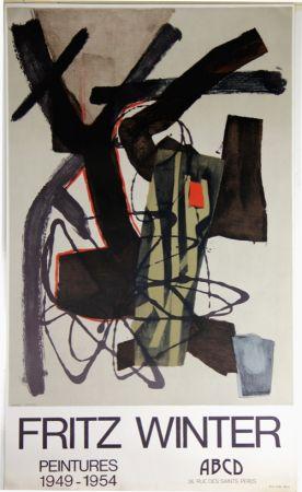 Lithographie Winter - Peintures 1949 1954