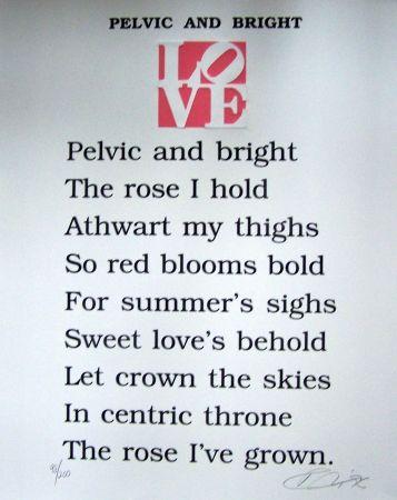 Aquatinte Indiana - Pelvic and bright the book of love
