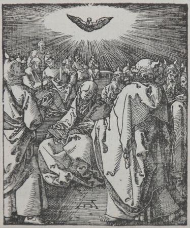 Gravure Sur Bois Durer - Pentecost (The Small Passion), 1612