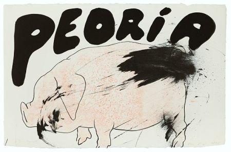 Lithographie Dine - Peoria