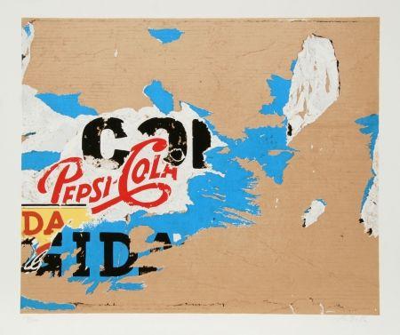 Sérigraphie Rotella - Pepsi
