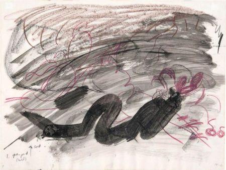 Aucune Technique Kirkeby - Per Kirkeby (1938-2018).Sans titre, 1980. Encre, lavis d'encre et crayon.