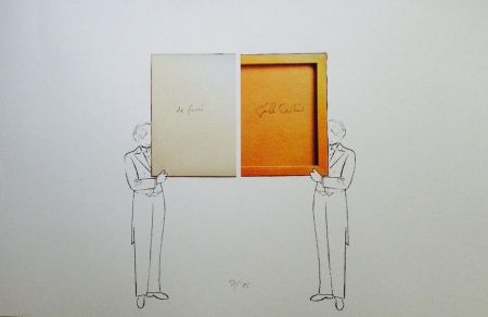 Lithographie Paolini - Per un verso o per l'altro E altro ancora