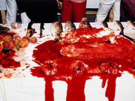 Photographie Nitsch - Performance 2003