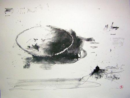 Lithographie Pizzi Cannella - Perle coltivate