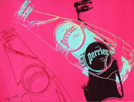 Offset Warhol - Perrier (Pink)