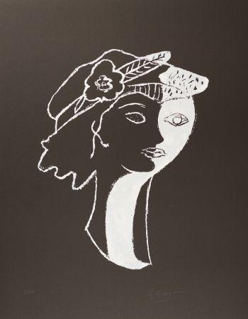 Lithographie Braque - Persephata