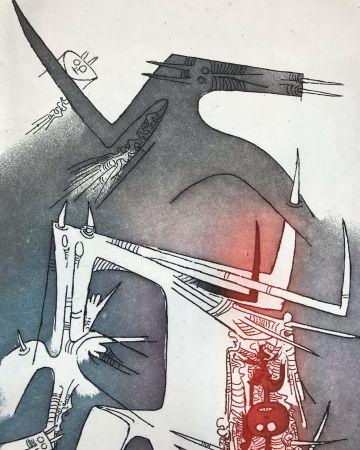 Eau-Forte Et Aquatinte Lam - Personaggi
