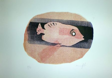 Linogravure Manfredi - Pesce